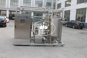 Plate type fast sterilizing HTST Pastuerizer