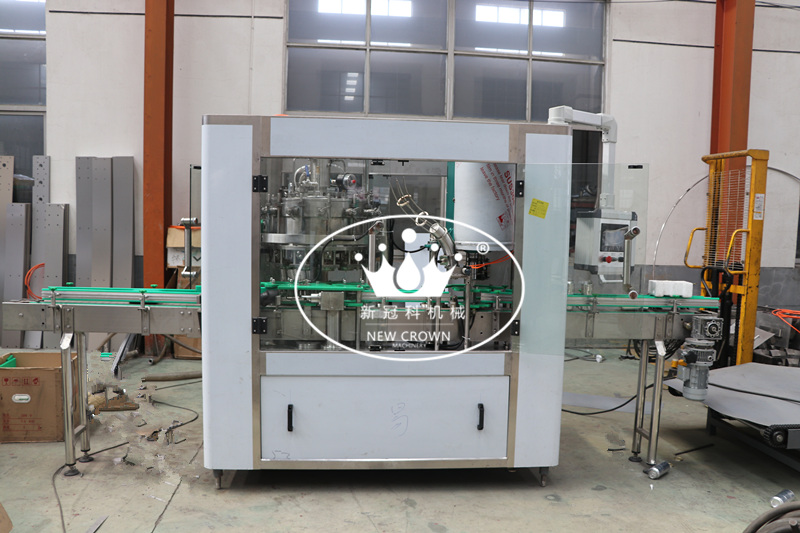 1500CPH Monoblcok Beer Can Filling Seaming Machine