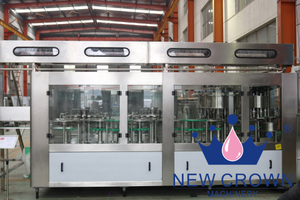 Pulp Juice Bottle Filling Machine