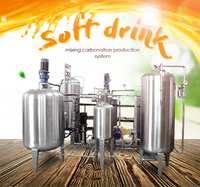 Soft Drink CO2 Carbonation Mixer