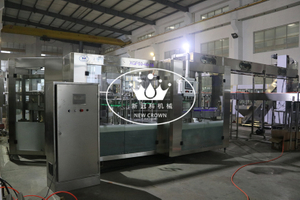 25000BPH High Speed PET Bottle Water Filling Bottling Machine