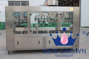 Glass Bottle (Metal Cap) Juice Filling Machine
