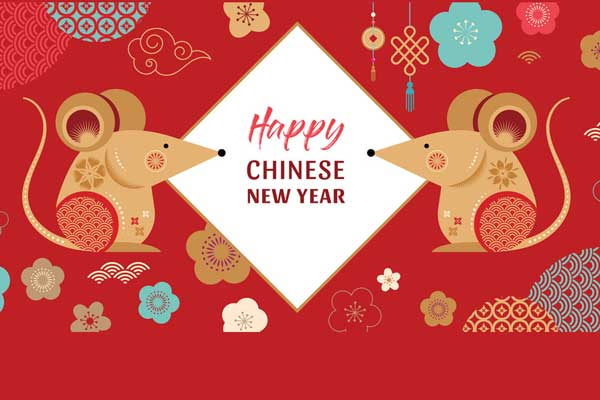 New Crown Chinese New Year Holiday Is Coming Soon