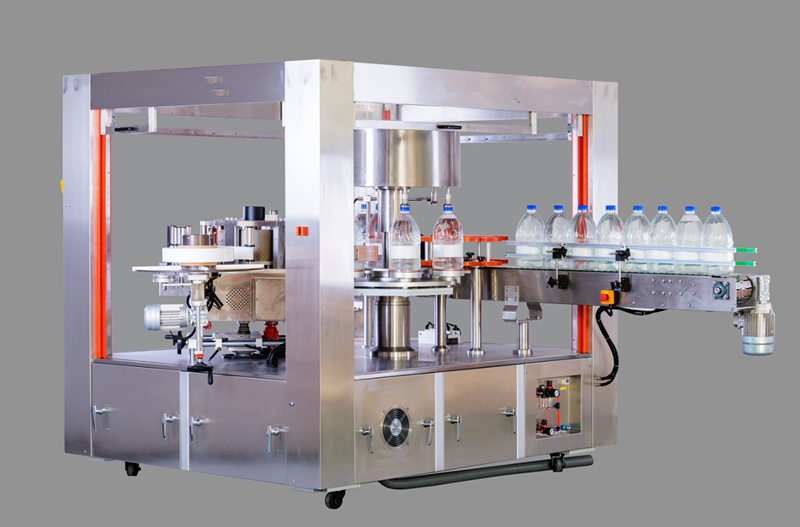 Bottle Adhesive Sticker Labeling Machine