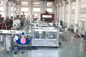aloe vera juice plastic bottle filling machine