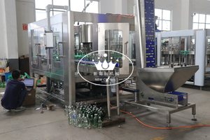 Mijiu Alcohol Drink Washing Filling Capping Machine