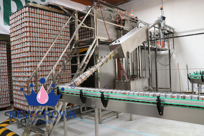 Complete Beer Canning Filling Machine