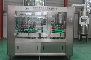 Glass Bottle Hot Filling Machine